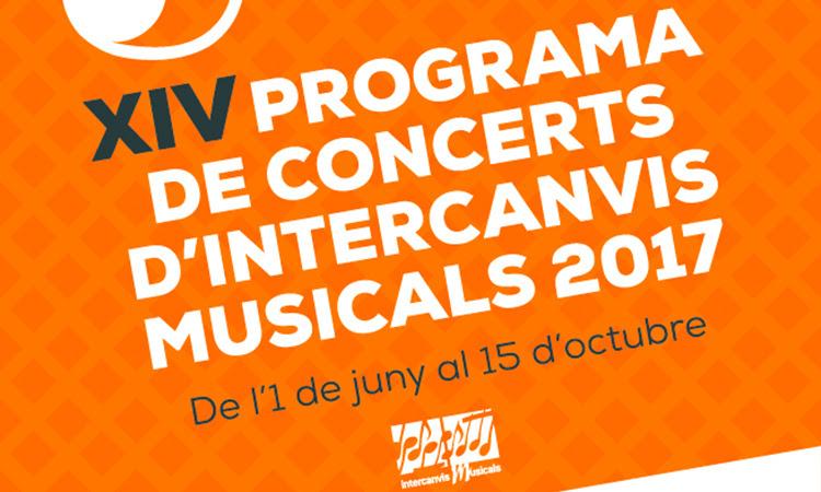 Clausura de la Campanya d'Intercanvis Musicals 2017
