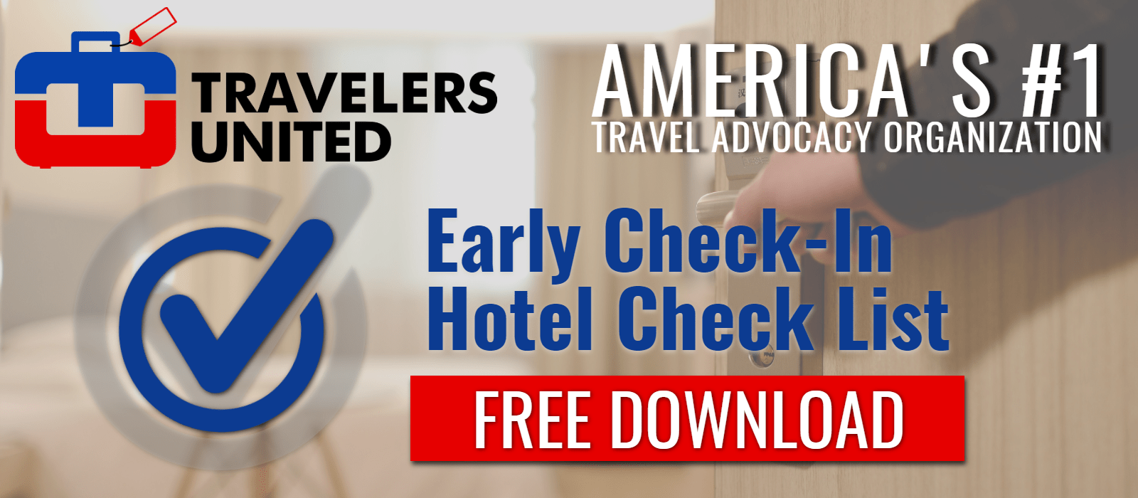 Download Hotel Early Check-In Checklist