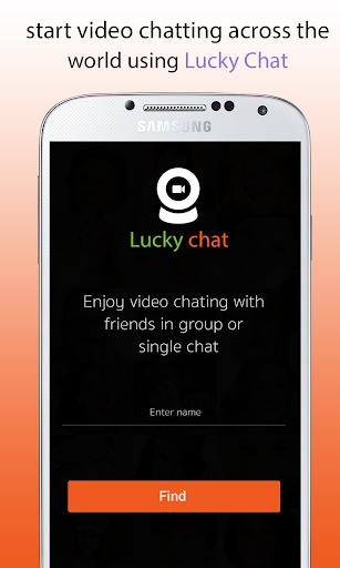 Lucky chat - Random video call 4.3 screenshots 1