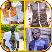 Men shirt & Ankara -  African men clothing styles