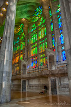 Photo: Sagrada Familia Stain Glass