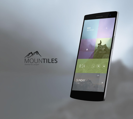 Mountiles Theme for Zooper