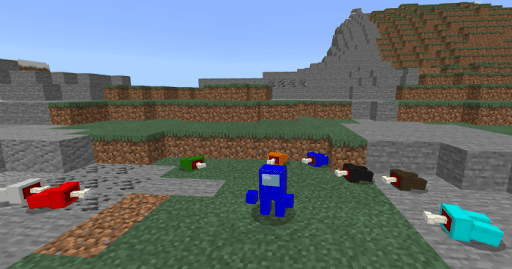 Mod Among Us for Minecraft PE hack tool