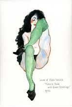 Photo: 《 syudy of Egon Schiele - 2 》
