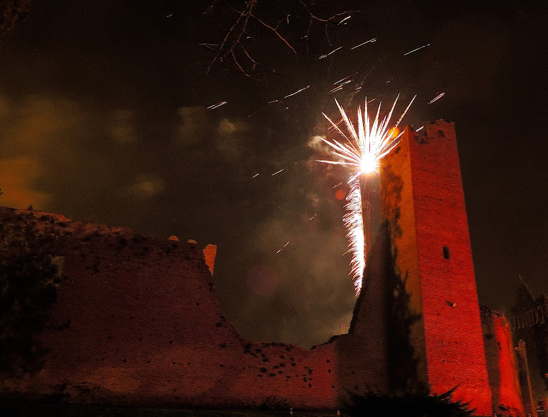 Esplosione sulla torre di renzo brazzolotto