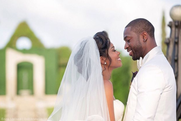 Gabrielle Union Wedding.Happy Anniversary To The Wades Our Favourite Moments From