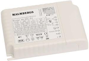Malmbergs LED-driver 30W