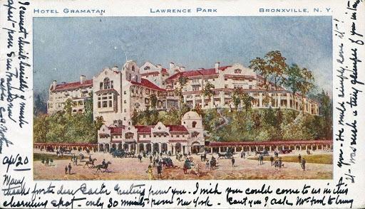 Postcard Hotel Gramatan Lawrence Park Bronxville N Y Google Arts Culture