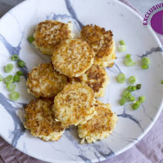 Gluten-Free Cauliflower Fritters.