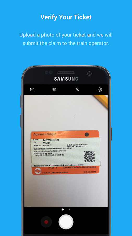 railrepay - Simple train compensation & refunds UK- screenshot