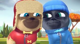 Art for Pug's Sake / Winter Wonder-Pug