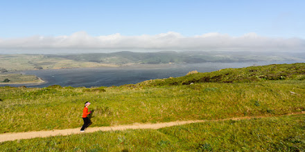 Photo: Looking across to Tomales Bay