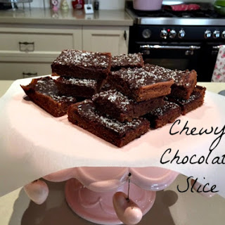 Chewy Chocolate Coconut Slice Recipes