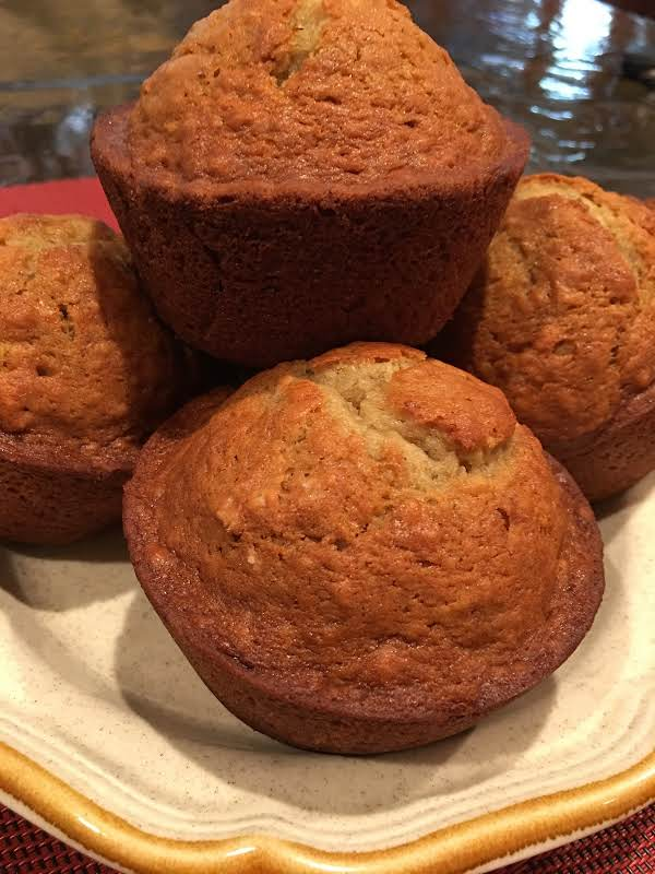 Bonnie's Banana And Pear Muffins