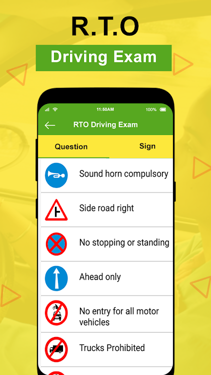 RTO Exam: Driving Licence Test – (Android Apps) — AppAgg