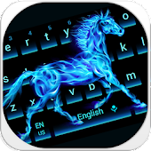 Flaming horse Keyboard
