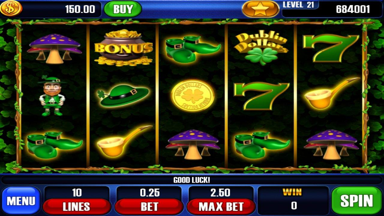 Dublin Dollars Free Slots- screenshot