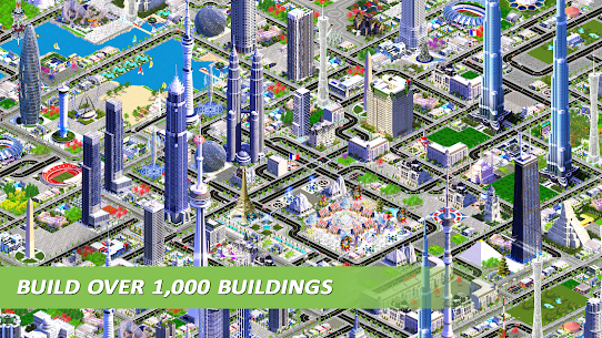 Designer City: building game MOD APK (Unlimited Gold) 3