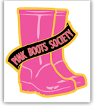 Logo for Pink Boots Society