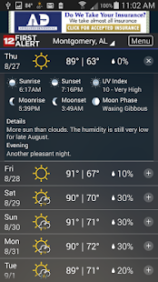 WSFA Doppler 12 Storm Vision- screenshot thumbnail