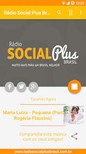 Radio Social Plus Brasil- screenshot thumbnail