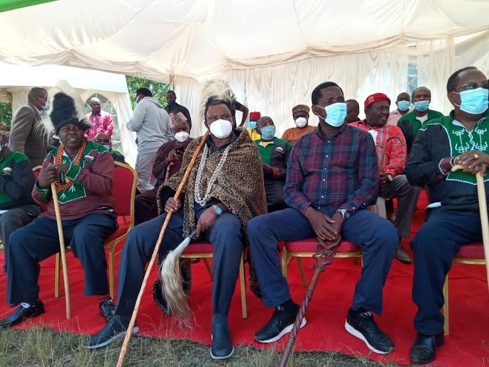 Muturi installation fuels confusion on Uhuru succession in Mt Kenya