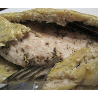 Herb-Baked Chicken In A Salt Crust