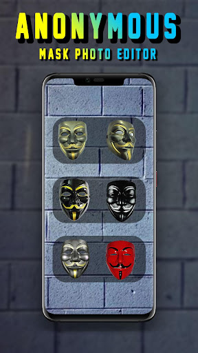Anonymous Mask Camera - Hacker Mask 1.0.1 screenshots 1