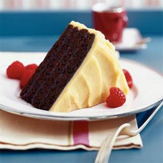 Chocolate-raspberry Cake.