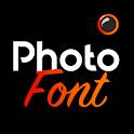 Photofont Text Over Photo icon