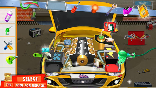 Modern Car Mechanic Offline Games 2019: Car Games 1.0.41 screenshots 11
