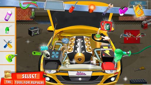 Modern Car Mechanic Offline Games 2019: Car Games apkpoly screenshots 11