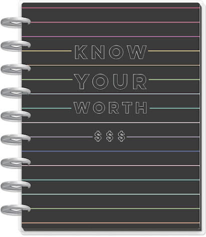 Me & My Big Ideas CLASSIC Happy Planner - Know Your Worth Budget