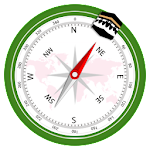 Trouver Qibla - Direction Qibla with Prayer Times Icon