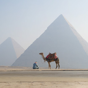 Morning in Egipt by Pier Riccardo Vanni - Buildings & Architecture Public & Historical