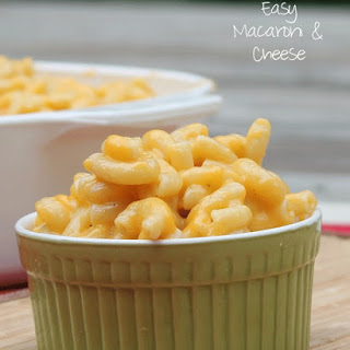 Easy Macaroni and Cheese.