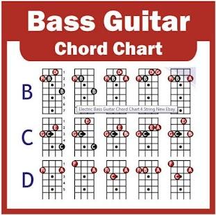 Bass Guitar Chords - náhled