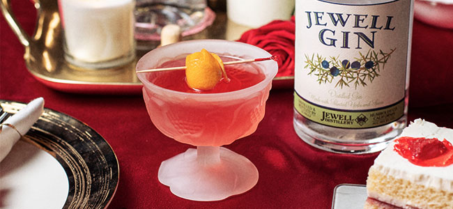 Jewell Distillery's Valentine's Day Cocktail