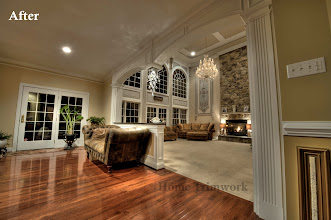 Photo: Doorway to Family room Arches and Pilasters Collegeville, PA Award Winning Project