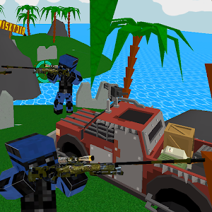 Block Combat SWAT Storm Desert for PC and MAC