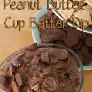 Peanut Butter Cup Batter Dip | Easy Dessert