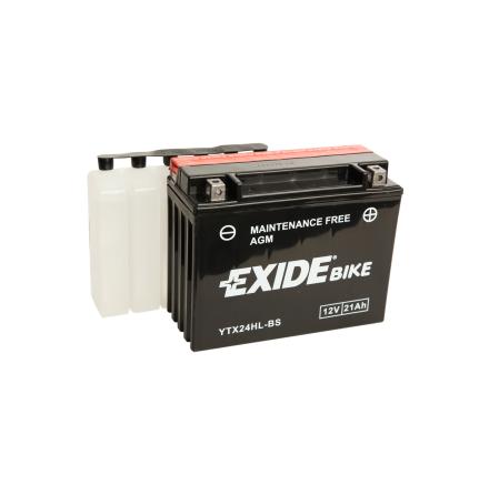 Tudor Exide AGM batteri 12V/21Ah YTX24HL-BS