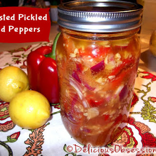 Pickled Roasted Red Pepper