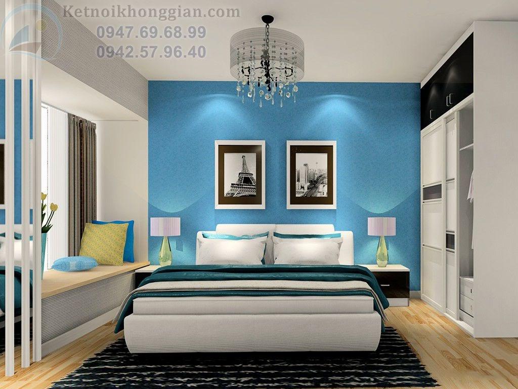 thiết kế chung cư hai phòng ngủ