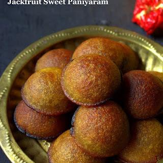 Chakka Nei Appam / Jackfruit Sweet Paniyaram.