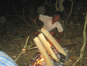 Photo: Bamboo Cooking in Challenge Trail