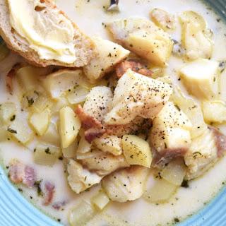Fish Chowder Bacon Recipes
