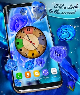 Blue Roses Live Wallpaper - náhled