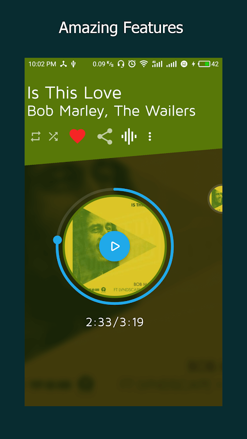 MusicX Music Player- screenshot