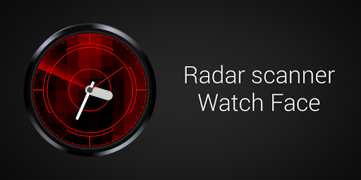 Radar scanner Watch Face